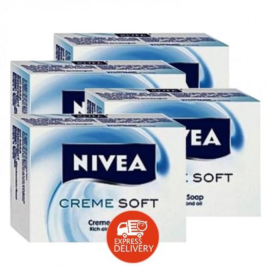 نيفيا – صابون كريم سوفت هايدرا 4 حبة × 100 جرام