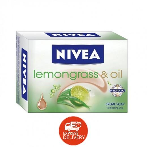 نيفيا – صابون كريم بالليمون غراس آند أويل 100 جرام