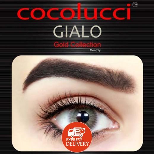 كوكولوتشي – عدسات لاصقة إستخدام شهر بدون وصفة -  لون جيالو 1 زوج