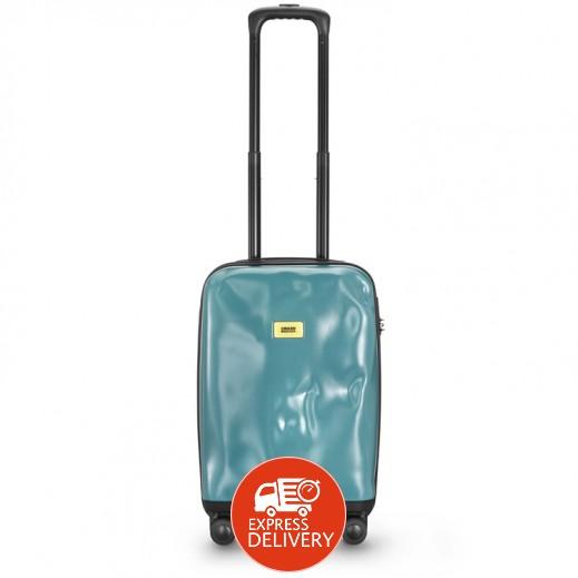 كراش باجيدج – حقيبة سفر سبينر لون أزرق – حجم صغير (55 × 36 × 20 سم)
