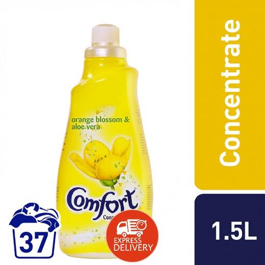 كومفورت – منعم الأقمشة المركز بعطر البرتقال والصبار 1.5 لتر