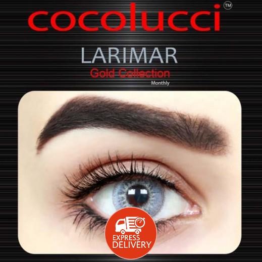 كوكولوتشي – عدسات لاصقة إستخدام شهر بدون وصفة-  لون لاريمار 1 زوج