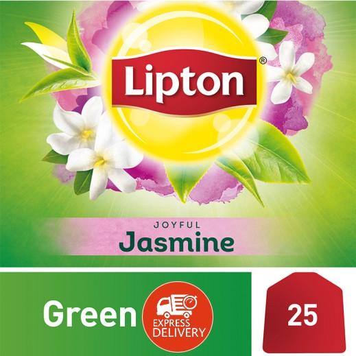 ليبتون – شاي أخضر بالياسمين 25 كيس