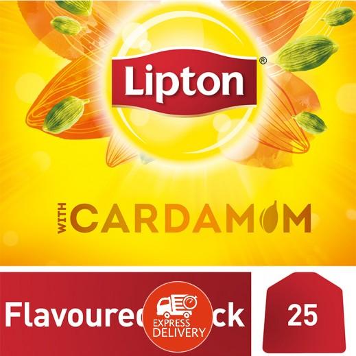 ليبتون – شاي أسود مع الهيل 25 كيس