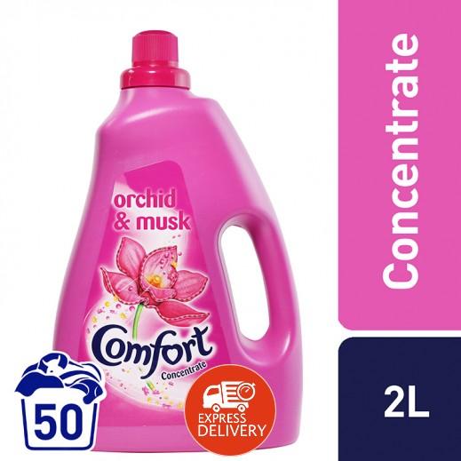 كومفورت – منعم الأقمشة المركز بزهرة الأوركيد والمسك 2 لتر