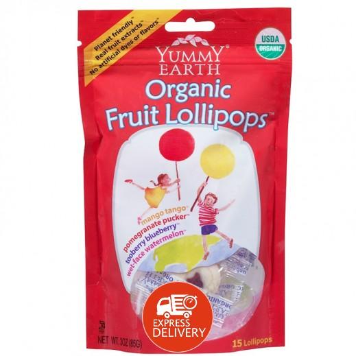 يامي إيرث – حلوى عضوية طبيعية بنكهة الفواكه 85 جم