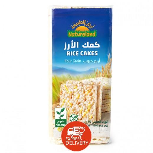 أرض الطبيعة  – كعك الأرز متعدد الحبوب عضوي 130 جم