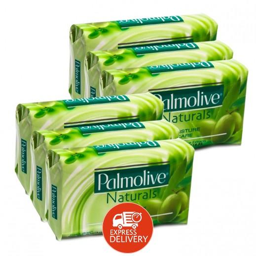 بالموليڤ – صابون متوازن وناعم بخلاصة الألوفيرا وزيت الزيتون 170 جرام (5+1 مجانا)