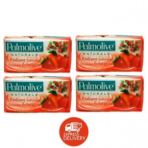 بالموليڤ – صابون بخلاصة الزبادي والفواكه 170 جم (4 حبة)