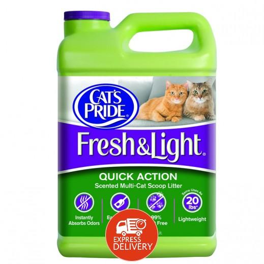كاتس برايد - تراب فضلات للقطط خفيف وخالي من العطور - 6.8  كجم