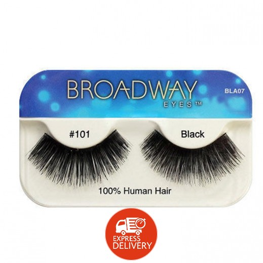 برودواي – رموش للعين من الشعر الطبيعي 101 أسود