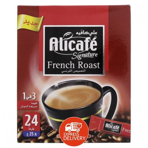 على كافيه – قهوة بالتحميص الفرنسي 24×25 جم
