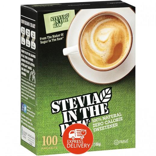 سويت أن لو – محلي بديل للسكر بخلاصة نبتة ستيفانا 100 كيس