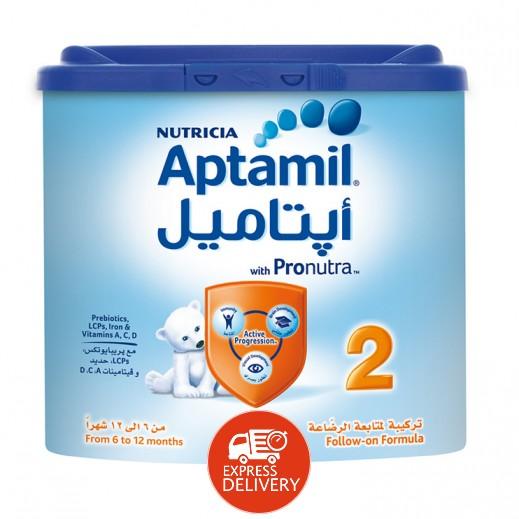 أپتاميل – حليب أطفال مرحلة 2 (6-12 أشهر) 400 جم