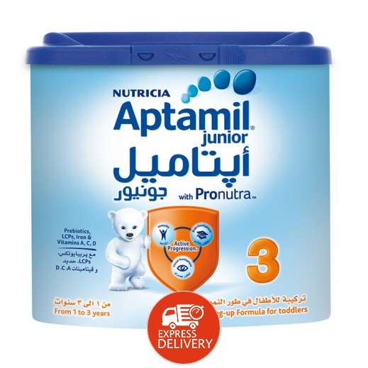أپتاميل – حليب أطفال جونيور 3 (من 1 – 3 سنوات) 400 جم