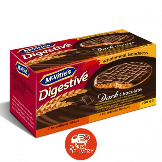 ماكفيتيز – بسكويت بالشوكولاتة الداكنة 200 جم