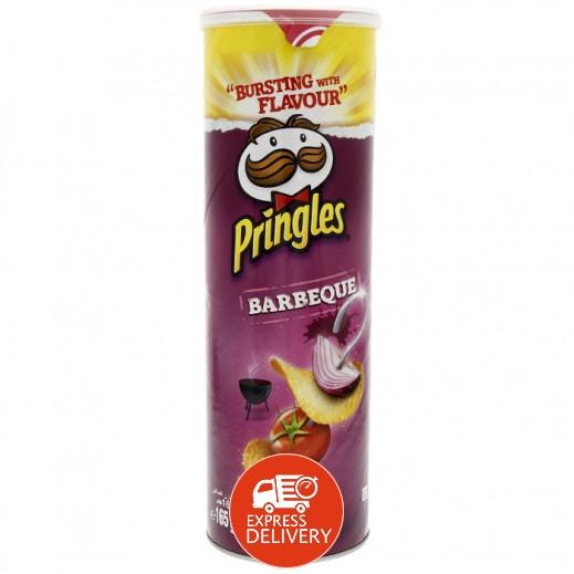 برنجلز – بطاطا شيبس بطعم الشواء 165 جم