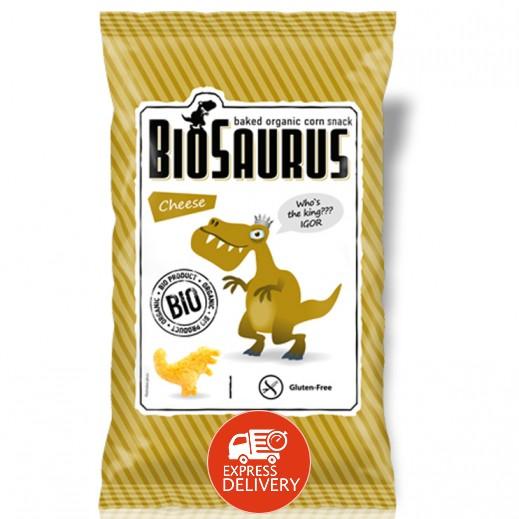 بيوسوروس - سناك الذرة العضوية المحمص مع الجبن 50 جم