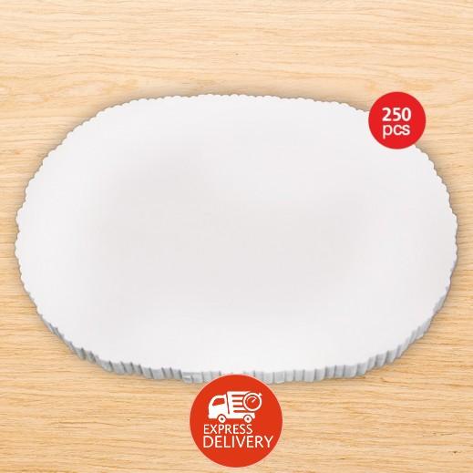 فالكون - مفارش ورقية بيضاوي 7.5 × 10.5 سم ( 250 ورقة )