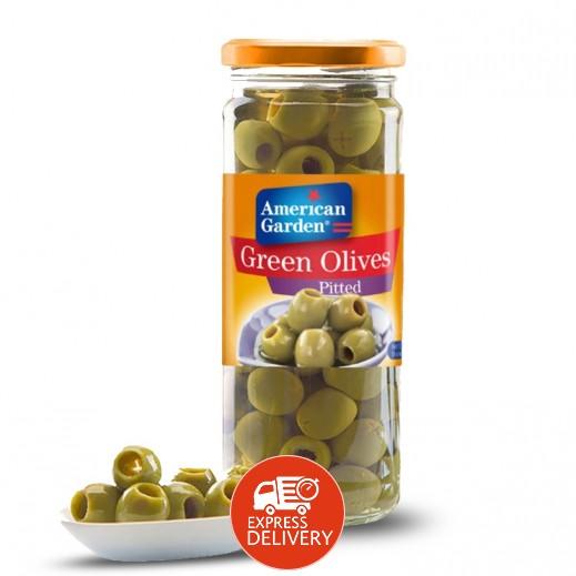 أميريكان جاردن– زيتون أخضر مخلل 450 جرام