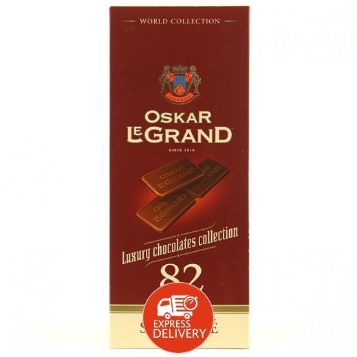 اوسكار ليجراند - شوكولاته داكنه فاخرة 82 جرام