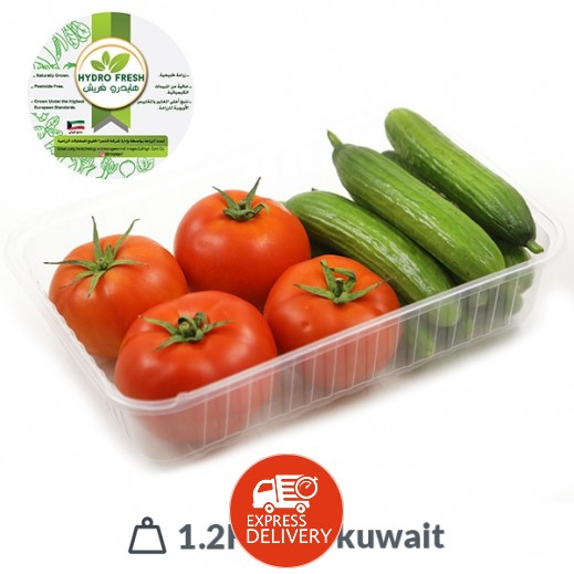 هايدرو فريش - مكس (طماطم& خيار) كويتي طازج 1.2 كجم