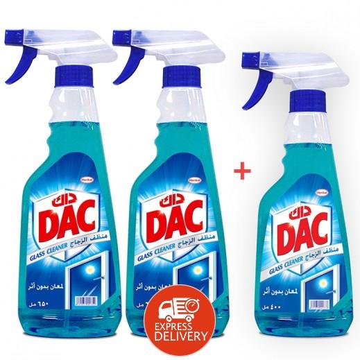 داك - منظف الزجاج الأزرق 2×650 مل + 400 مل مجاناً