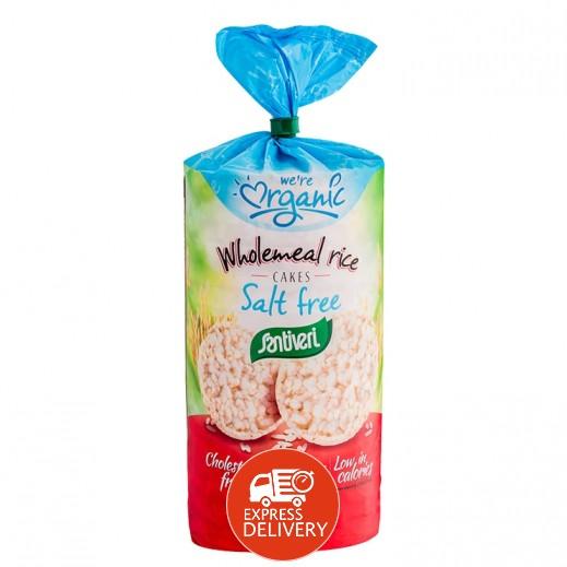سانتيفري – كعك الأرز العضوي الخالي من السكر 130 جم