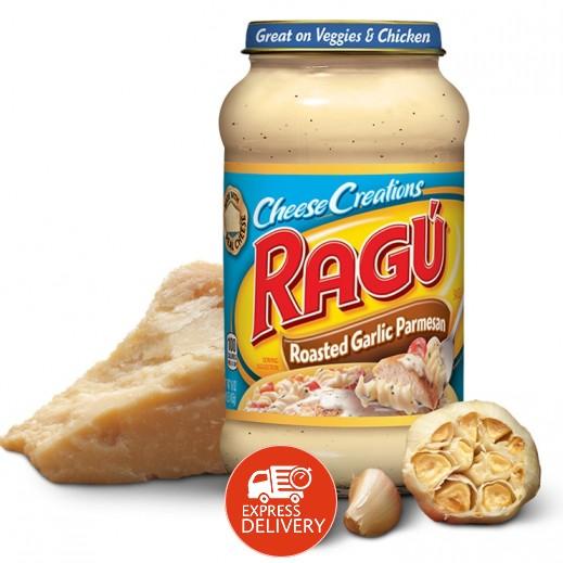 راغو - صلصة المعكرونة البيضاء وجبنة البارميزان 680 جم