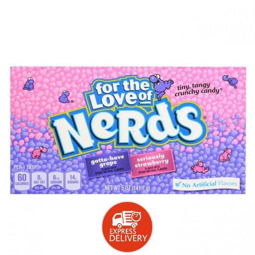 ونكا - حلوى نيردس بالعنب والفراولة 141.7 جم