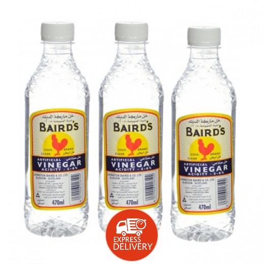 بيردز - خل أبيض 3×470 مل