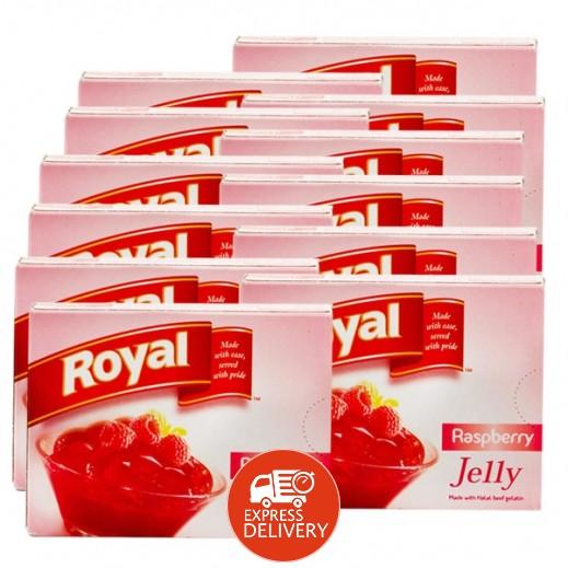 رويال - حلوى الجيلاتين بنكهة التوت 85 جم (10+2 مجاناً)