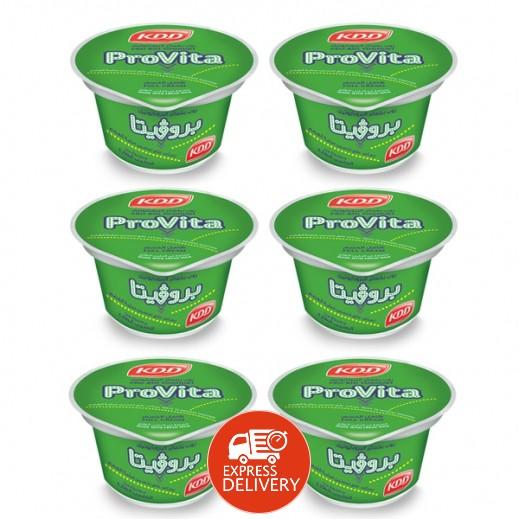 كي دي دي – روب بروﭭيتا كامل الدسم بخمائر البروبايوتيك 170 جم (4 حبة + 2 مجاناً)