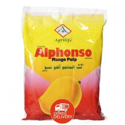 Agrilife Frozen Alphonso Mango Pulp 1 kg