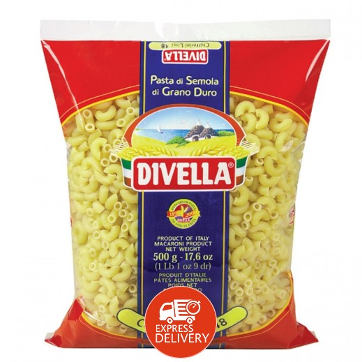 ديفيلا – معكرونة تشيفريني رقم 8 500 جم