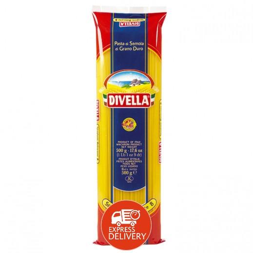 ديفيلا – معكرونة سباغيتي 3 ألوان رقم 8 500 جم