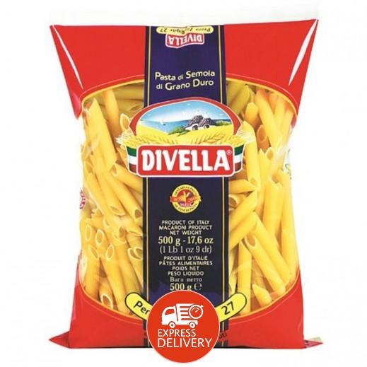 ديفيلا – معكرونة بيني 3 ألوان رقم 27 500 جم