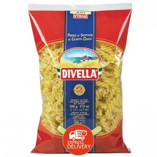 ديفيلا – معكرونة فوسيلي 3 ألوان رقم 40 - 500 جم