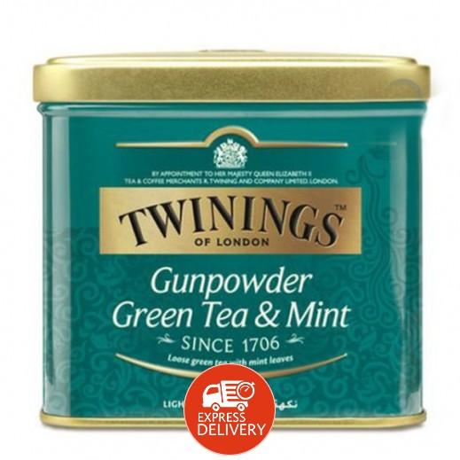 تويننجز – شاي أخضر صيني بالنعناع 200 جم