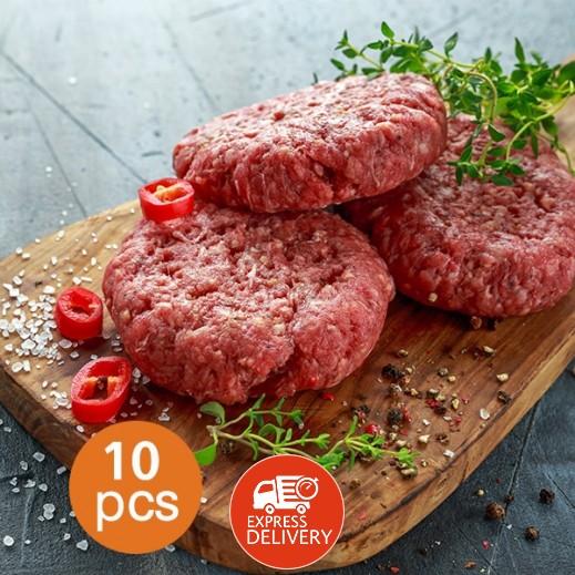 برجر اللحم البقري الأمريكي 950 جم ×  10 قطع
