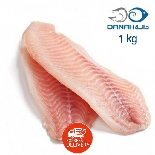 شركة الأسماك الكويتية المتحدة – فيليه هامور 1 كجم (تقريباً)