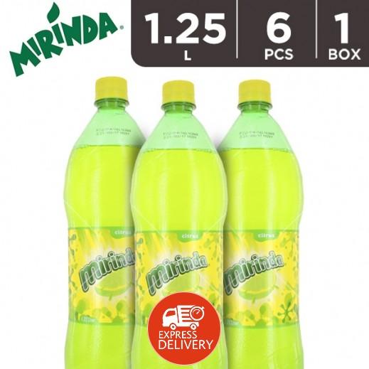 ميريندا – شراب البرتقال بالحمضيات 6 × 1.25 لتر