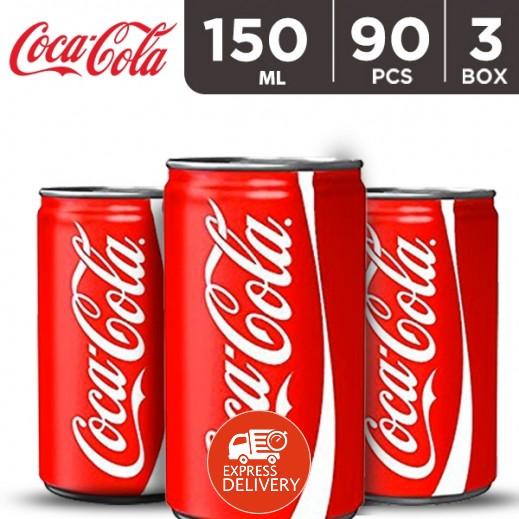 كوكا كولا – مشروب غازي 150 مل ( 3 كرتون × 30 حبة ) – أسعار الجملة