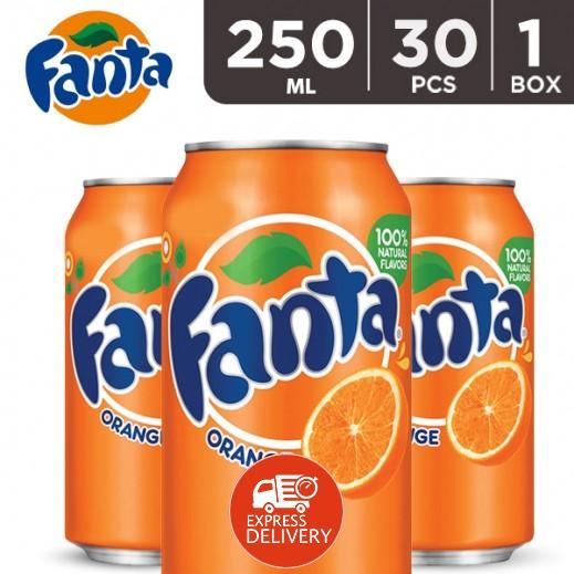 فانتا – شراب البرتقال 250 مل ( 30 حبة )