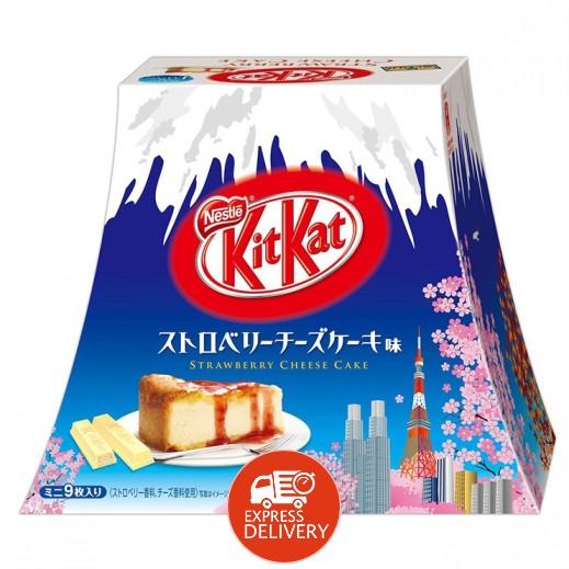 نستلة - شوكولاتة كيت كات بطعم تشيز كيك الفراولة 104.4 جم