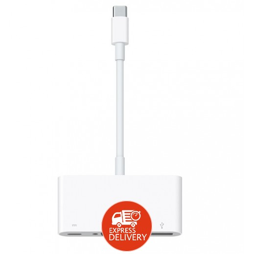 ابل – USB-C VGA محول متعدد المنافذ – 1 متر – ابيض