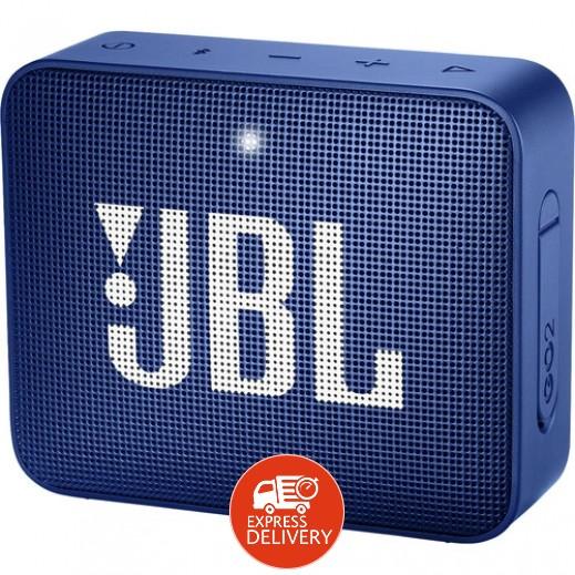 جي بي ال –  مكبر صوت ميني GO2 مقاوم للماء – أزرق