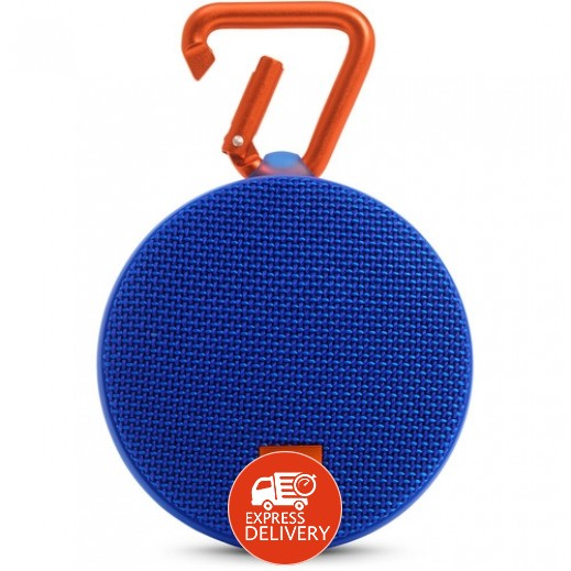 جي بي ال – Clip 2 مكبر صوت لاسلكي مقاوم للماء – أزرق