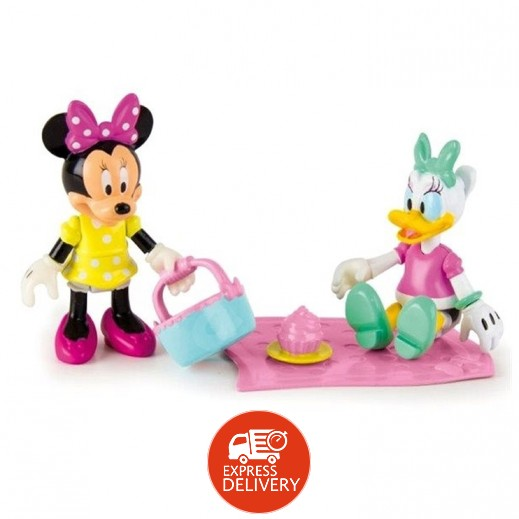 Minnie Mouse and Daisy Picnic Fun Figures 2 Packs
