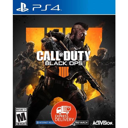 لعبة Call of Duty Black Ops 4 لبلاي ستيشن 4 – نظام NTSC